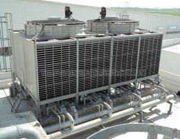 Tháp giải nhiệt chiller có cấu tạo như thế nào?