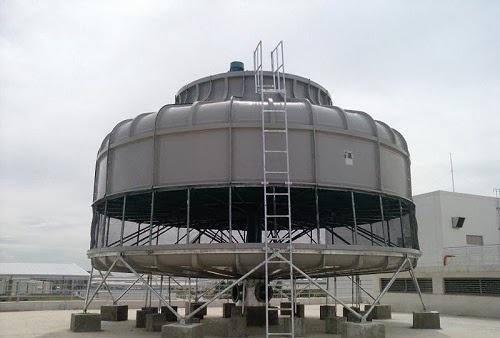 Có rất nhiều nguyên nhân tháp giải nhiệt bị thất thoát nước