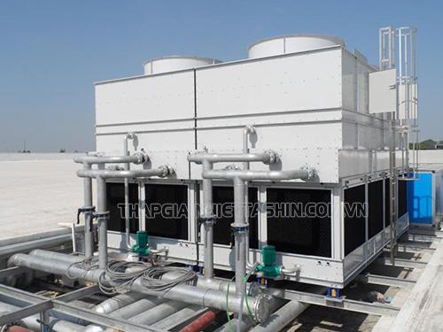 Một sản phẩm tháp giải nhiệt nước kín tiêu biểu