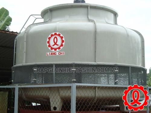Tháp giải nhiệt LBC có thiết kế dạng tròn dễ lắp đặt