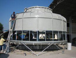Tháp giải nhiệt bị rung ồn: nguyên nhân và hướng dẫn xử lý